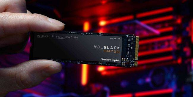 The excellent 500GB WD Black SN750 SSD, with heatsink, is 29%-off—today only