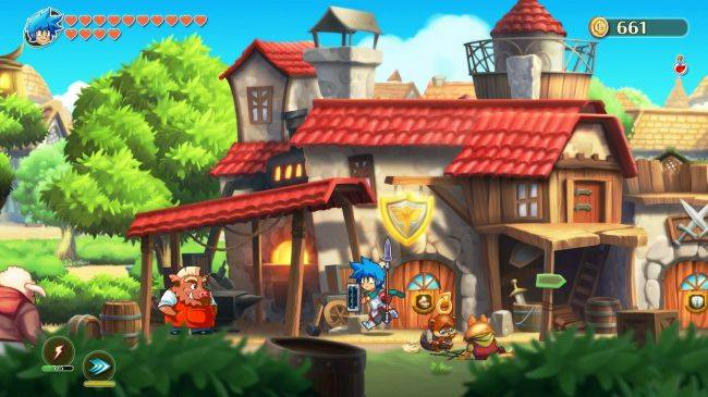 Monster Boy and the Cursed Kingdom has a free demo on Steam right now