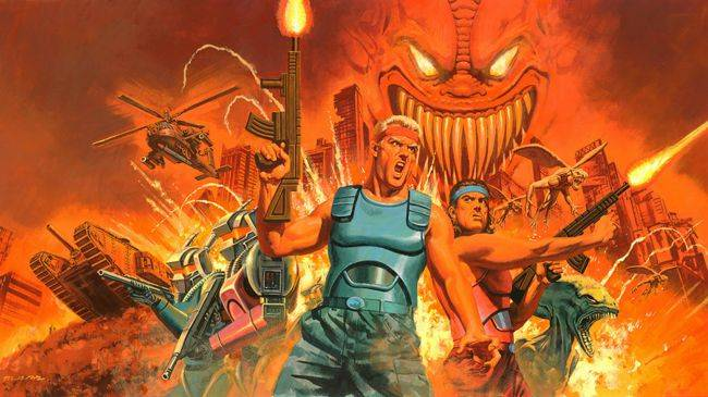 Konami reveals what's in the Contra Anniversary Collection