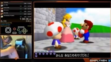 Watch the wholesome moment this Super Mario 64 speedrunner broke the world record after eight years of trying