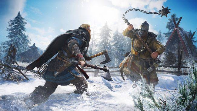 Assassin's Creed Valhalla lets you dual-wield shields