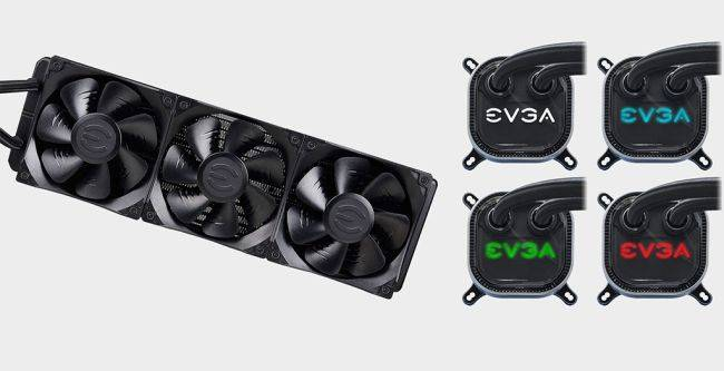 This EVGA 360mm liquid cooler is the cheapest one we've seen at $100 after rebate