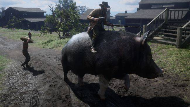 Ride tall, handsome hogs in this necessary RDR2 mod