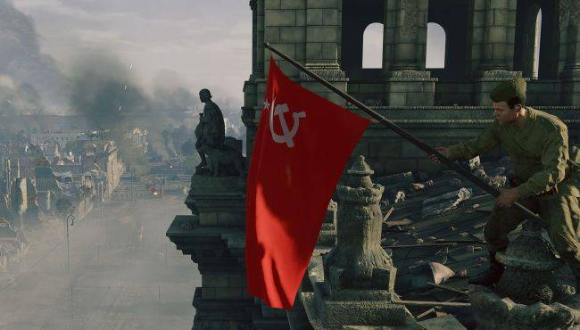 Celebrate VE Day by smashing Berlin again in the 100-player WW2 FPS Enlisted