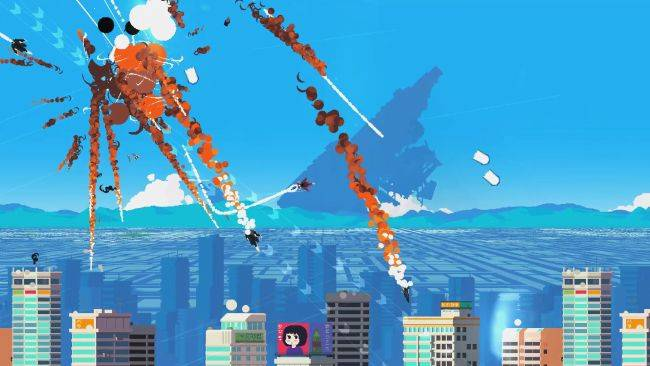 Jet Lancer looks like Luftrausers but anime and it's out now
