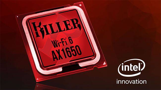Intel bought the company that makes Killer networking products for gamers