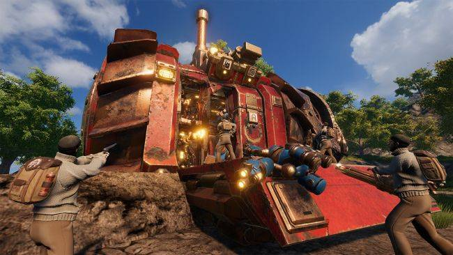 Steampunk survival game Volcanoids finally gets co-op play