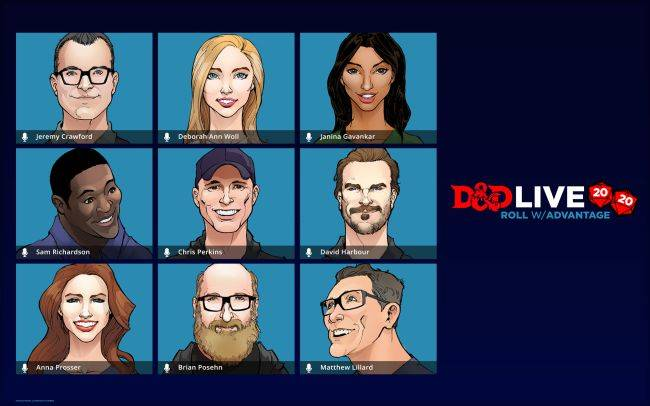Dungeons & Dragons rolls out the celebs for D&D Live 2020