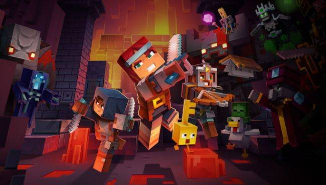 Minecraft Dungeons pays tribute to Diablo with a secret cow level