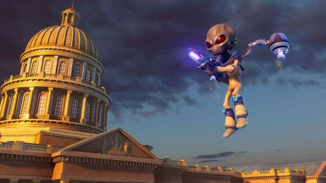 Obliterate the human race for the first time on PC with the free Destroy All Humans! demo