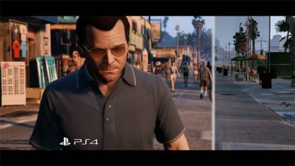 Rockstar Releases Video Comparing GTA V On PS4 And PS3
