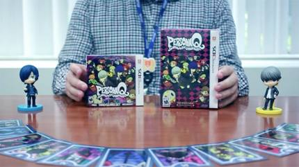 Atlus Unboxes Persona Q's Special Editions