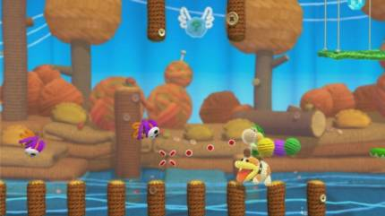 Yoshi's Woolly World's Burning Questions