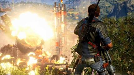 Fan-Created Just Cause 3 Launch Trailer Features Original Explosion Rap