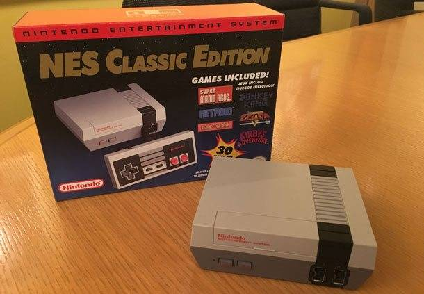 Getting Up-Close With NES Classic Edition
