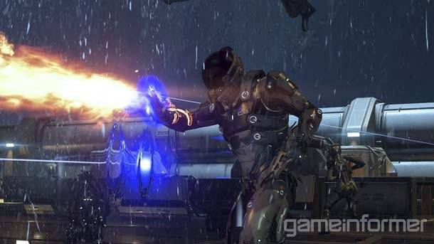 New Mass Effect Andromeda Screenshots