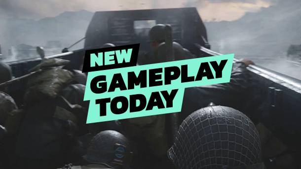 New Gameplay Today – Call Of Duty: WWII