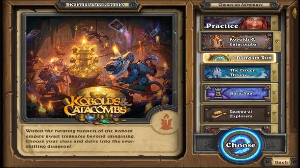 Hands-On With Hearthstone's Dungeon Run