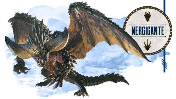 Monster Hunter: World Bestiary Day 3 – The Destructive Titan Nergigante