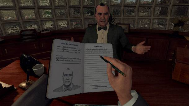 What's Gained And What's Lost In L.A. Noire's Transition To VR? Hands On Impressions