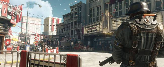 The real villain in 'Wolfenstein II' is a complicit America