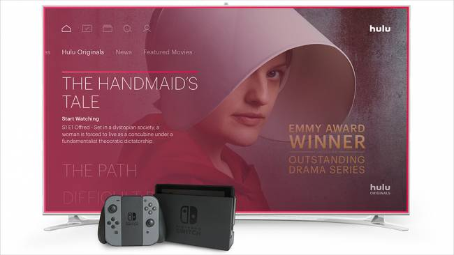 Hulu is Nintendo Switch's first streaming app
