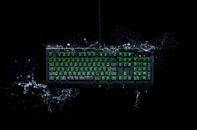Razer's latest gaming keyboard can survive spilled drinks