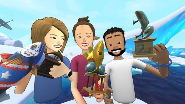 'Bait!' brings an ice fishing expedition to Facebook's social VR