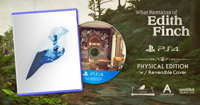 Indie hit 'What Remains of Edith Finch' gets limited physical release