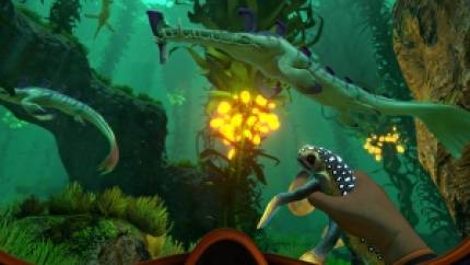Superb underwater survival adventure Subnautica dated for December on PS4