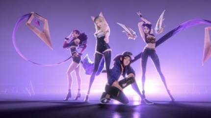 League of Legends' virtual girl band K/DA manages to top Billboard's world music charts