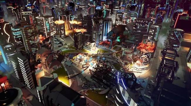 Watch 45 Minutes of Crackdown 3 Multiplayer Gameplay Right Here to See the Destruction