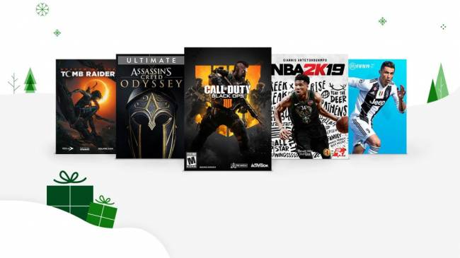 Black Friday Sale for Xbox Live Gold Members Now Available
