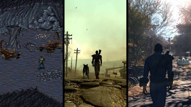 The Evolution of Fallout
