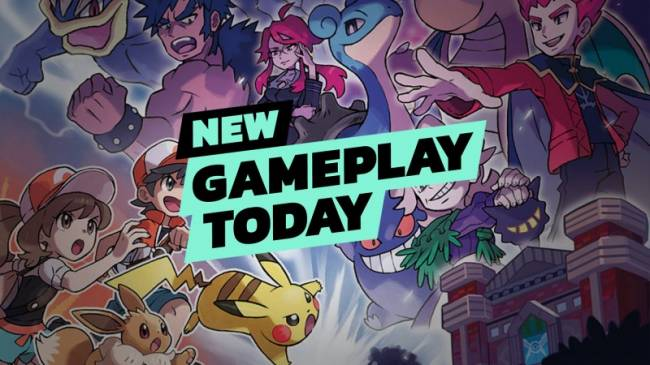New Gameplay Today – Pokémon: Let's Go Pikachu & Eevee