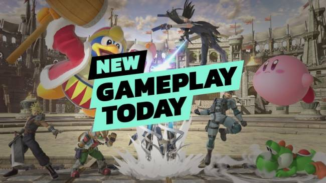 New Gameplay Today – Super Smash Bros. Ultimate's New Modes