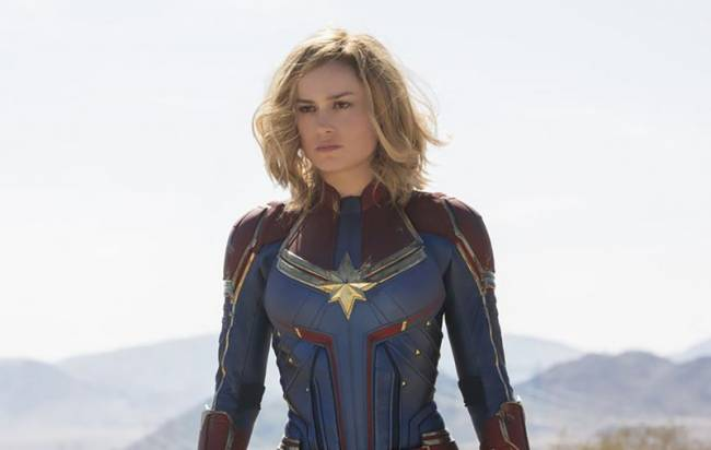 Captain Marvel's Brie Larson Dressed Up As Samus Aran For Halloween