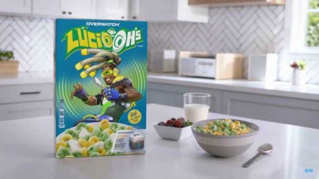 Overwatch Breakfast Cereal Announced At BlizzCon
