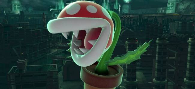 Piranha Plant Joins Super Smash Bros. As A Fighter After Launch