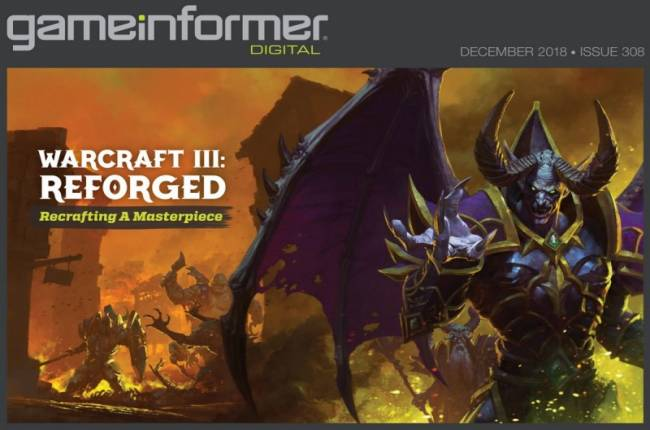 The Warcraft III: Reforged Digital Issue Is Now Live