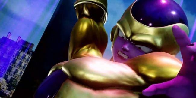 Golden Frieza And Super Saiyan Blue Vegeta Come To Jump Force