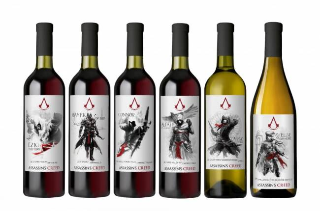 You Can Order A Bottle Of Assassin's Creed Wine For A Limited Time