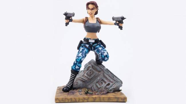 Gaming Heads Unveils Second Lara Croft Statue In Limited Edition Series