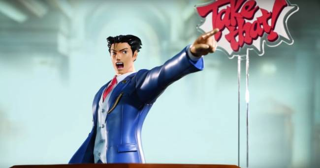 You Can Now Pre-Order This Phoenix Wright Statue