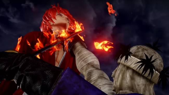 Himura Kenshin and Makoto Shishio Cross Swords In New Jump Force Trailer