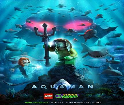 Jason Momoa's Aquaman Is Coming To Lego DC Super Villains