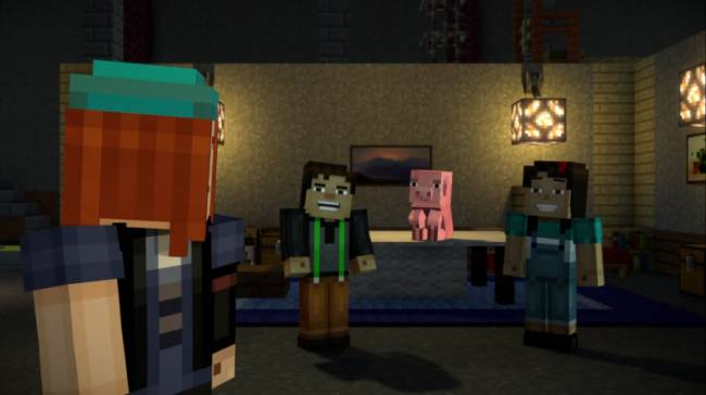 Minecraft: Story Mode Launches On Netflix