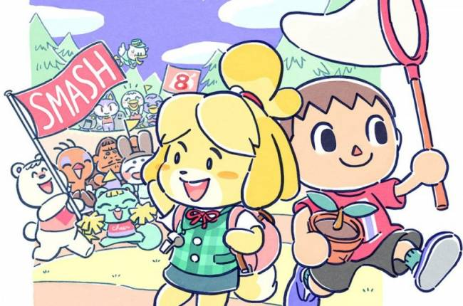 Developers Celebrate Release Of Smash Bros. With Art Countdown