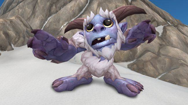 WoW's 2018 charity pet is the adorable Whomper, proceeds go to code.org