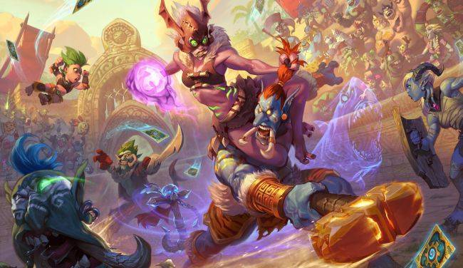 Hearthstone's next expansion is Rastakhan's Rumble